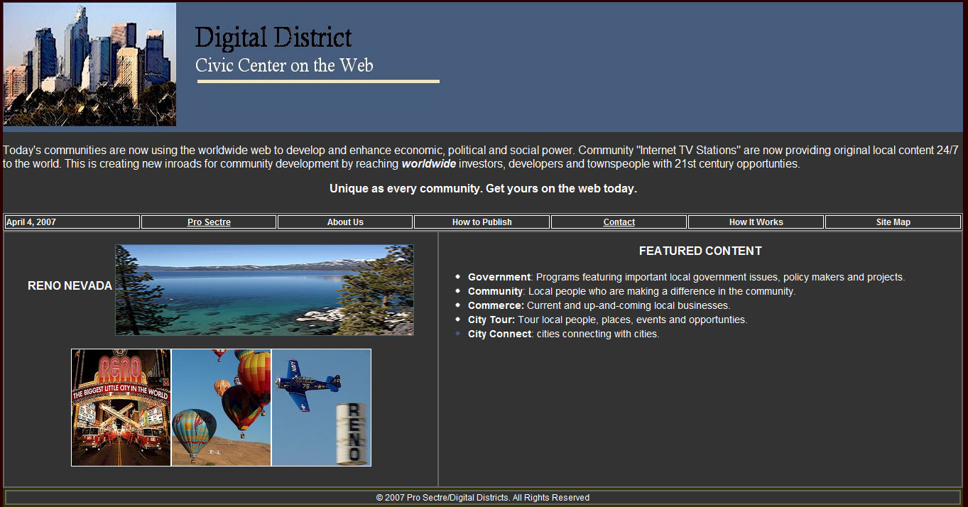 HTML Websites-Digital District
