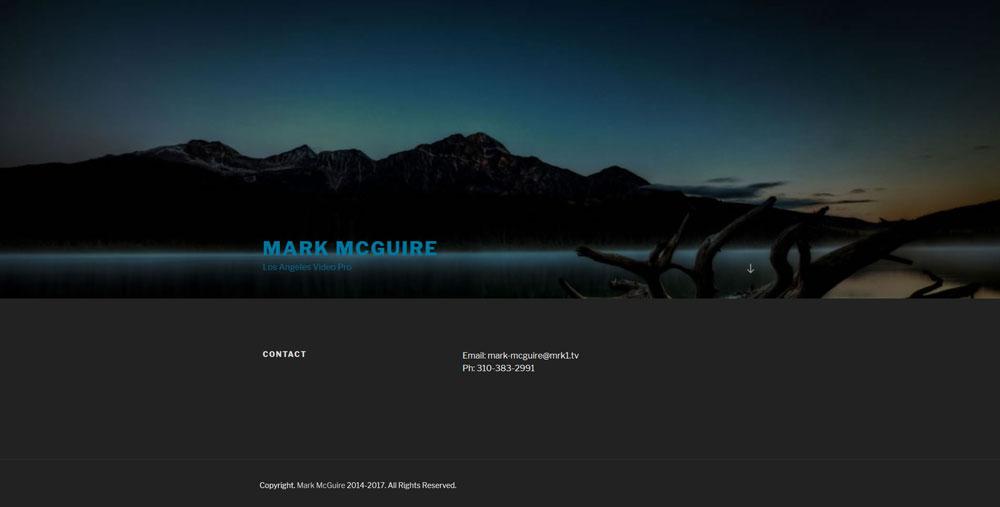 WordPress Samples-Mark McGuire-Erik Petersen