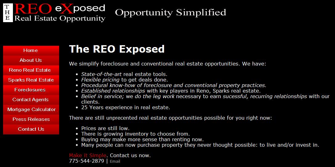 HTML websites-ReoXposed