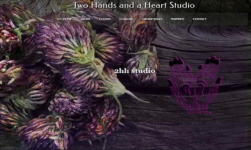 2hh Studio Website Screen Capture